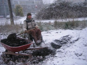 Justin Tilson - guerilla gardening in Vancouver